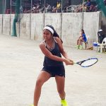 Gaby Zoleta Filipino junior tennis player