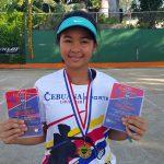 Gaby Zoleta - Filipino Junior Tennis Player
