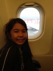 Gaby Plane Airasia
