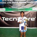 Gaby Zoleta Champion 14 under girls