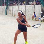 Gaby Zoleta Filipino junior tennis player