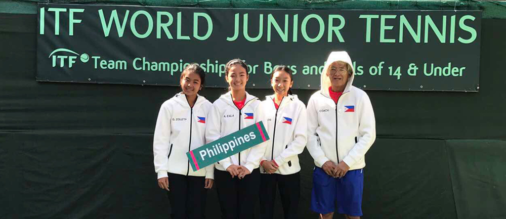 Team Philippines at The World Juniors Team Championships