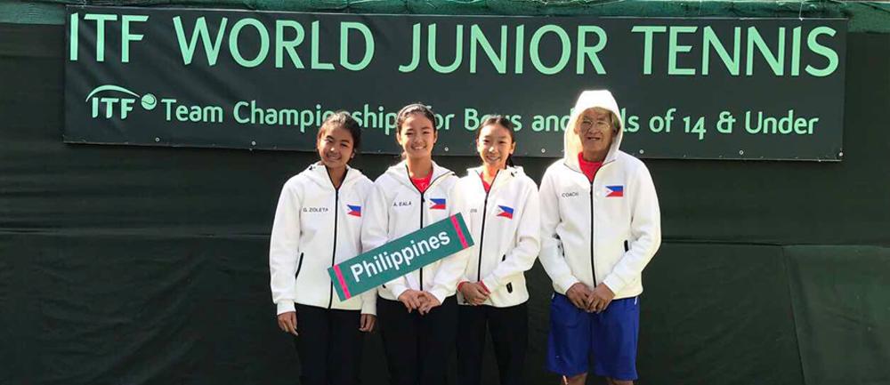 Team Philippines at The World Juniors Team Championships